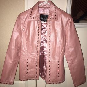 Oscar Piel 100% Real Perfect Leather Jacket